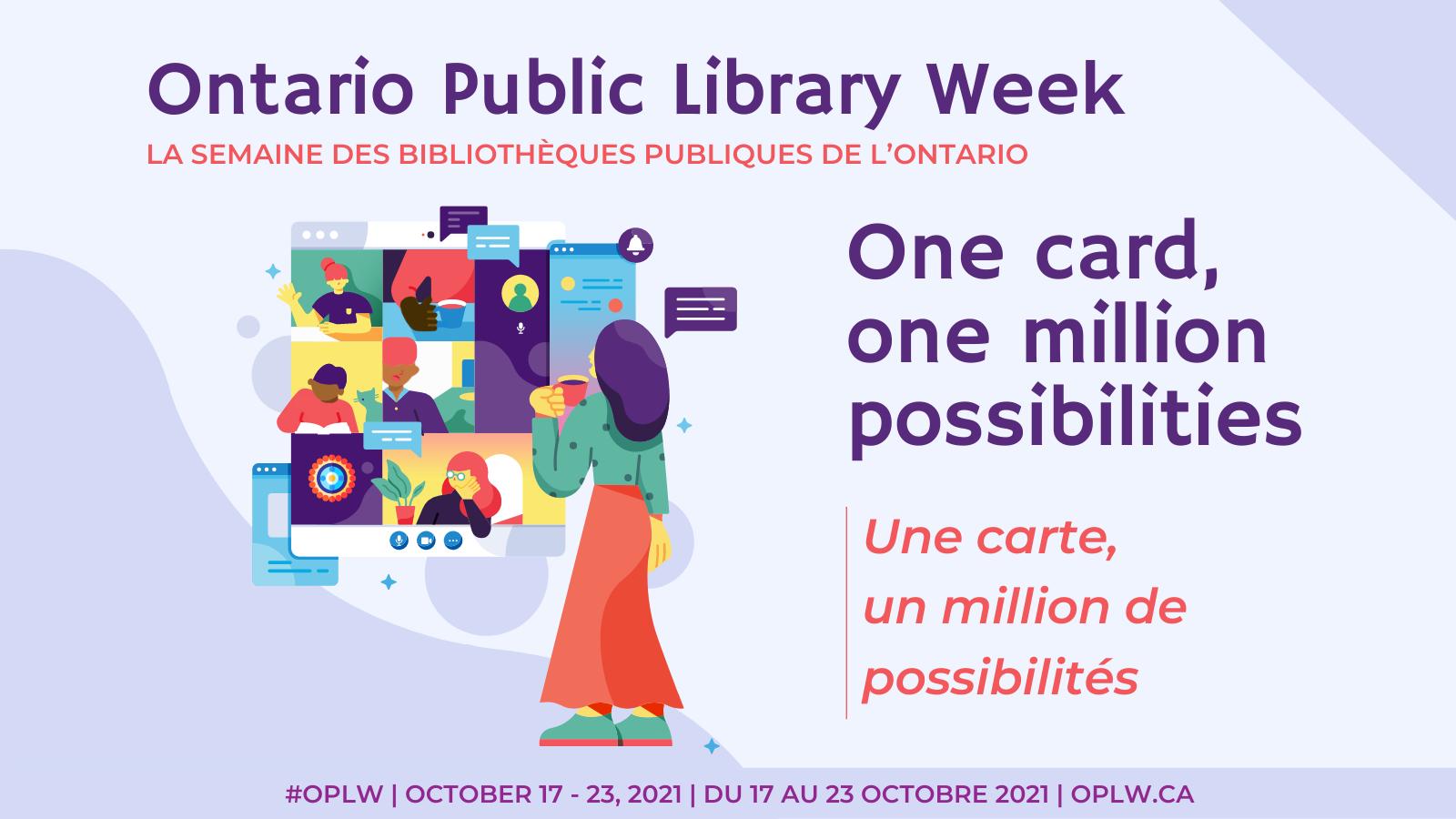 Ontario Public Library Week 2021