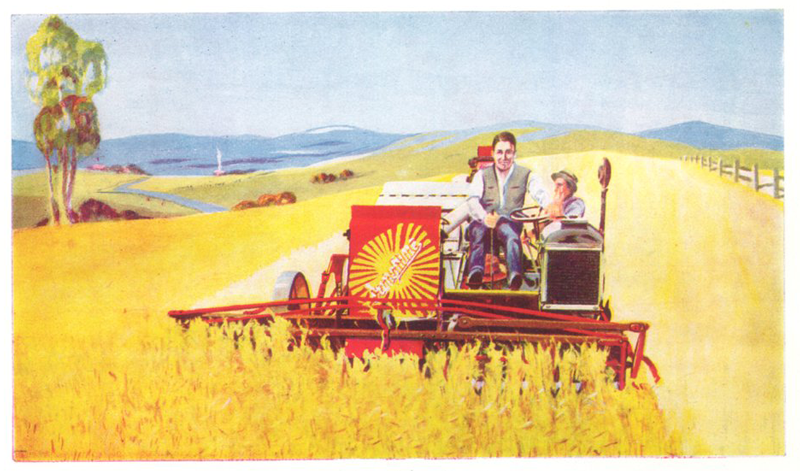 vintage advert for Sunshine Waterloo